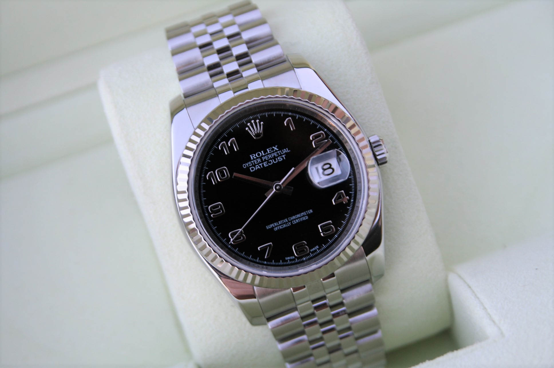 dial image fluted bezel mens watch datejust watches rolex for listings diamond