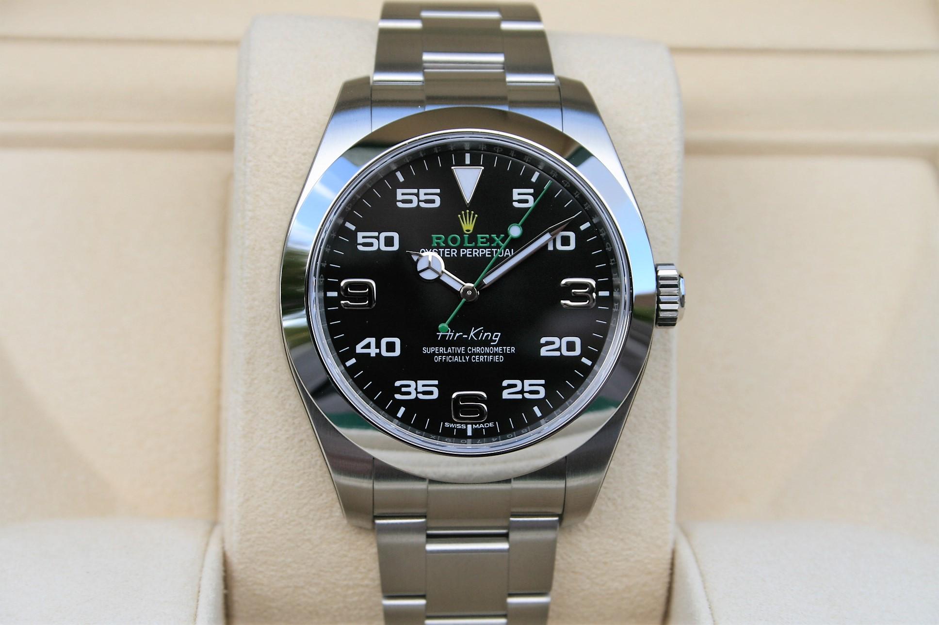 official photos ab3d2 16e4c Rolex 116900 Air-king 40MM Watch NIB